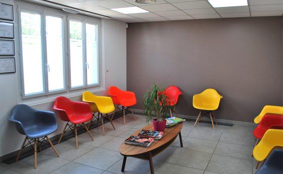 Salle d'attente - Bordeaux Podopôle